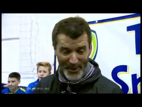 Roy Keane on Games Consoles and Video Games