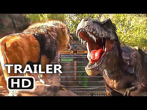 "JURАSSІC WΟRLD ""Lion VS T-Rex"" Trailer (2018) Action Movie HD"