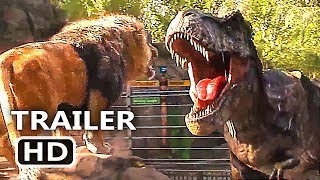 "JURASSIC WORLD 2 ""Lion VS T-Rex"" Trailer (2018) Action Movie HD"