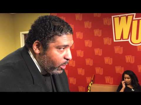 Rev. William Barber at Winthrop for presidential forum