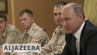 Putin orders Russian troops' withdrawal from Syria