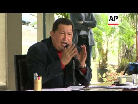 Chavez claims FARC and Colombia have asked for his help in peace process