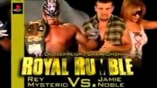 WWE Royal Rumble 2004 Match Card