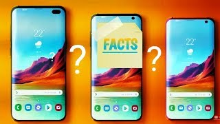 SAMSUNG GALAXY S10.  FUTURISTIC FACTS CONFIRMED