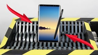 Experiment Shredding Samsung Galaxy Note 8 So Satisfying | The Crusher