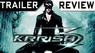 Krrish 3 - 'Krrish 3' Trailer Review