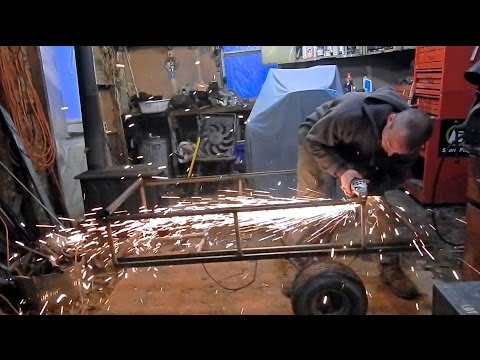 Off Road Mower Utility Trailer Build #1
