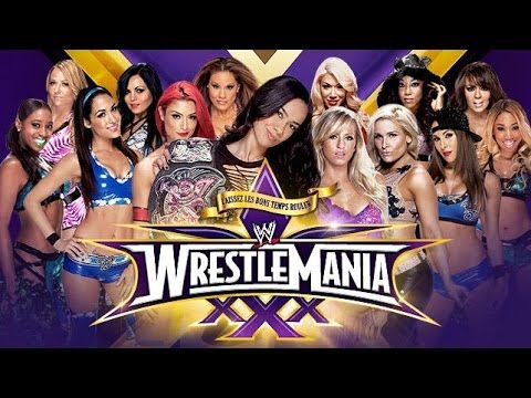 Wwe 2k14  Battle Royal Divas (match For The Wwe Divas Championship) Wrestlemania 30 video