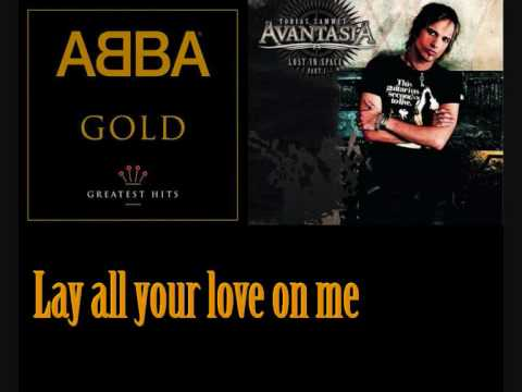 ABBA - Lay all your love on me ( Official Music Video