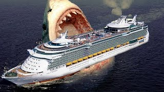 दुनिया की सबसे बड़ी शार्क Megalodon || LARGEST Shark In The World - Megalodon Hindi