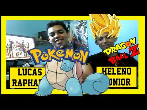 Dragon ball z, pokémon : Jovens Gafanhotos