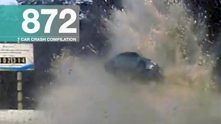 Car Crash Compilation 872 - February 2017