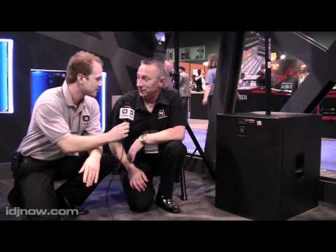 ELECTRO-VOICE ELX118P POWERED 18 SUBWOOFER AT WINTER NAMM 2011 WITH IDJNOW