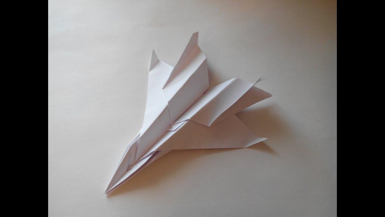 Как сделать самолёт из бумаги самый лучший