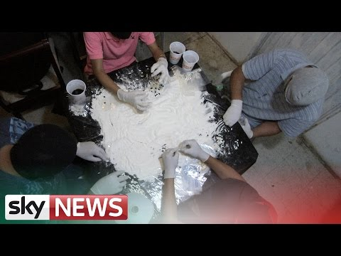 How Meth Is Sent From Mexico To America | Narco State | Sky News