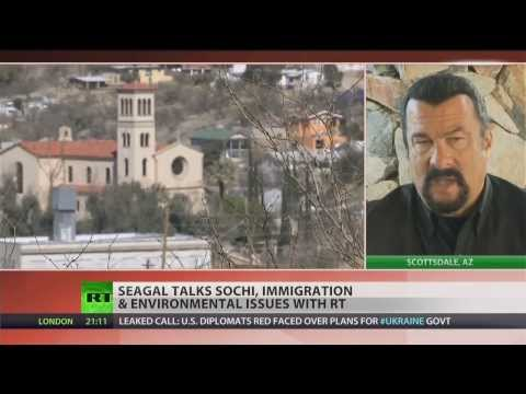 Steven Seagal talks Sochi Olympics safety