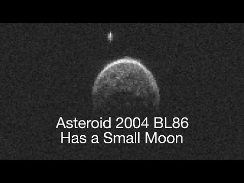 Large Asteroid 2004 BL86 Flies Past Earth, Has Moon   Video