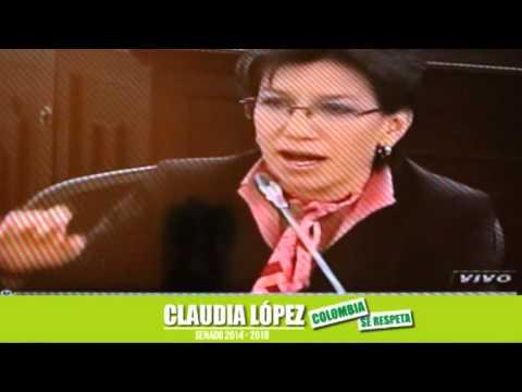 Claudia López sobre la crisis carcelaria