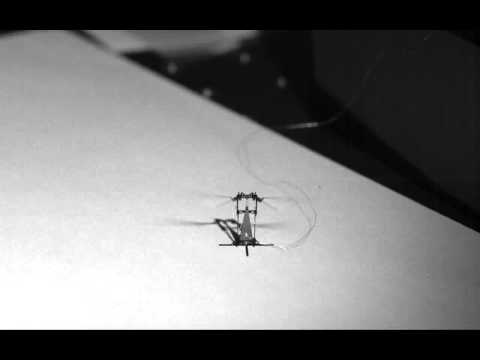 Steerable RoboBee from Harvard