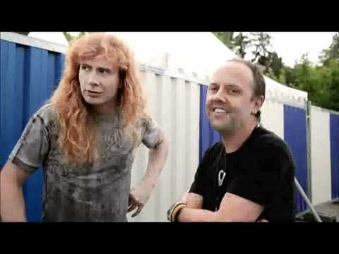 Lars Ulrich's kids listen to Megadeth! Music Videos