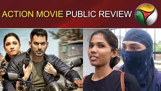 Action Movie Public Review | Action Movie Review | Action Movie  First Reaction | Vishal | Tamannaah