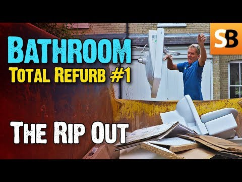 Bathroom Renovation #1 - Demolition & Rip Out