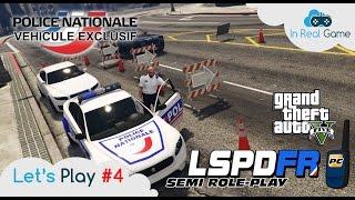 GTA 5 LSPDFR [FR] ● POLICE NATIONALE JACKAL ● PATROUILLE Semi-RP ● EP 4