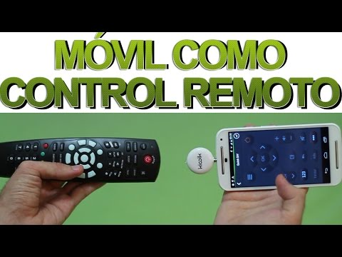 ¿Cómo usar tu móvil o tablet como mando a distancia (control remoto) para TV? Tutorial [HD]