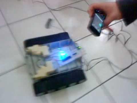 UTCH Accelerometer controlled