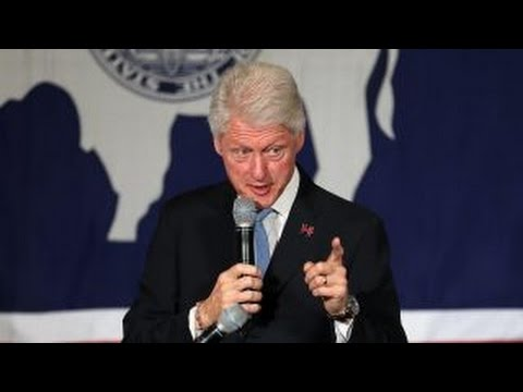 Bill Clinton argues with Black Lives Matter protestors