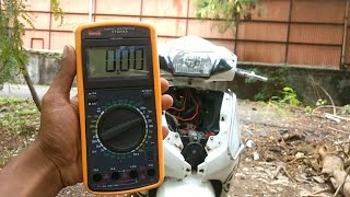 How to use Multimeter in motorcycle's | An important device for modification