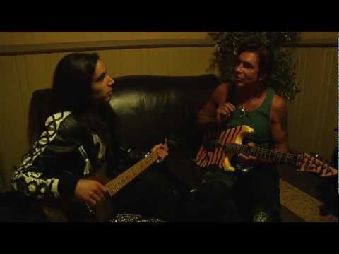 The Making of Downward Spiral Music Video. Ethan Brosh with George Lynch