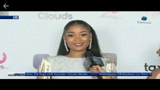 Hamisa Mobetto alivotinga Miss Tanzania 2018