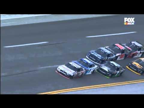 Nascar XFINITY Series 2016. Talladega Superspeedway. Joey Logano Huge Crash on Wild Finish