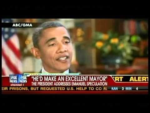 President Obama On Rahm's Chances 9-9-2010