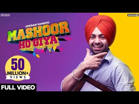 Jordan Sandhu : MASHOOR HO GIYA (Official Video) Bunty Bains | Desi Crew | Nikki Kaur | Brand B