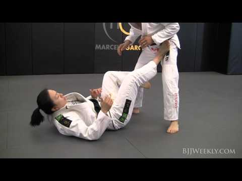 Emily Kwok - Sickle Sweep from Open Guard - BJJ Weekly #056 Image 1