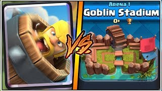 BARBARIAN BARREL TROLLING ARENA 1 IN CLASH ROYALE | FUNNY MOMENTS & TROLLS!