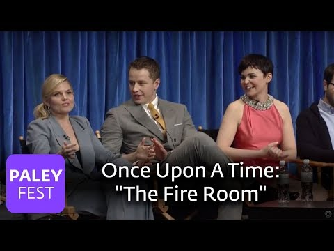 "Once Upon A Time - Jennifer Morrison and Ginnifer Goodwin On ""The Fire Room"" Special Effects"