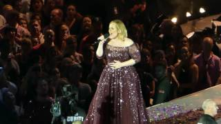 Adele When We Were Young Melbourne March 19