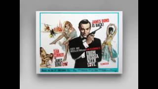 FROM RUSSIA WITH LOVE POSTERS