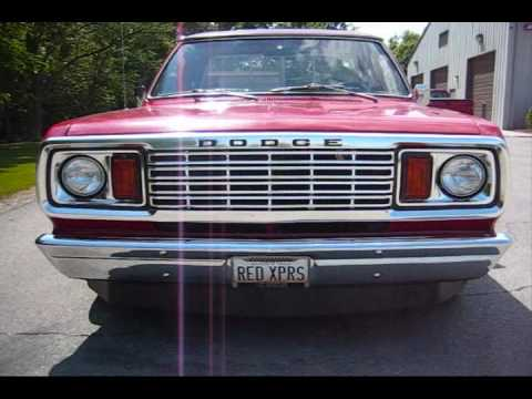1978 Dodge Lil Red Express Truck
