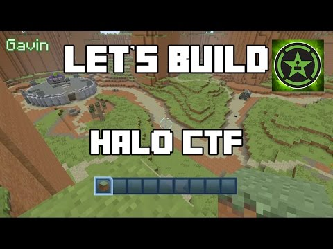 Let's Build in Minecraft - Halo CTF
