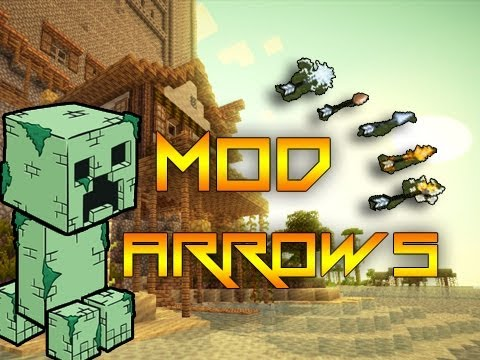 Minecraft Mods Showcase: Elemental Arrows - Griefer Creepers
