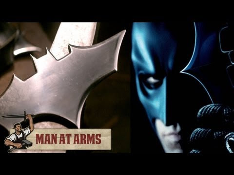 Plasma Cutting Batarangs (The Dark Knight) - MAN AT ARMS