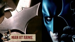 Batarangs (The Dark Knight) - MAN AT ARMS