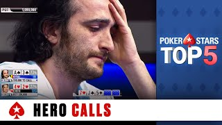 Top 5 Hero Calls | PokerStars