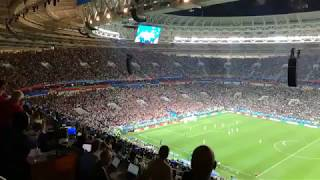 England try to score while Croatia is celebrating :D :D