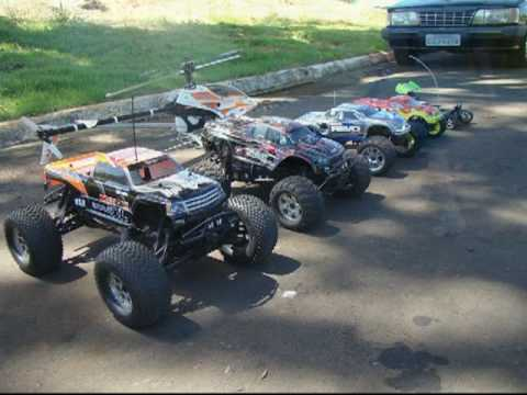 REVO + Flux Savage + Himoto + Raptor 30 v2 + Savage XL 5.9 + Monster Truck EZRUN   HPI
