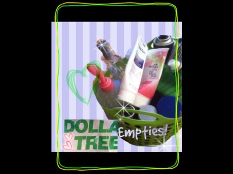 Dollar Tree Empties & Products I've Used Up!
